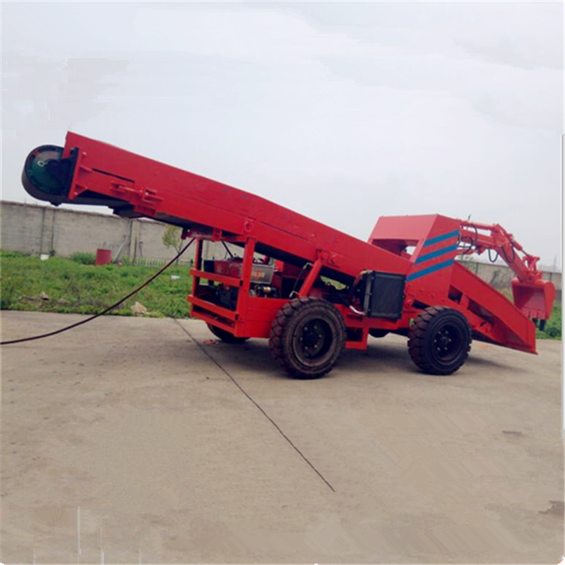 修筑公路用铲运机,新上机器